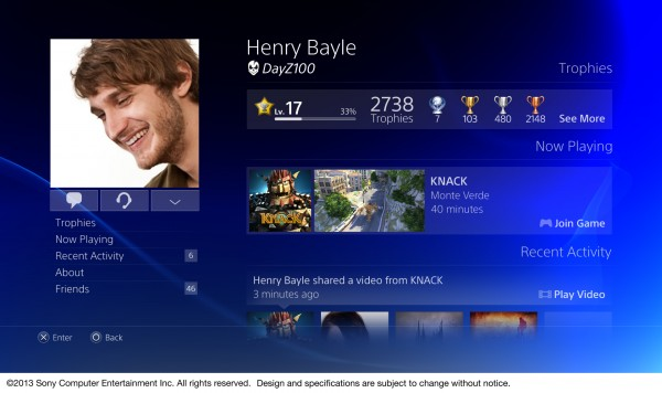 PS4 interface getoond in nieuwe walkthrough video [video]