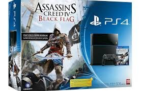 PS4 bundel met Assassin's Creed IV: Black Flag in aantocht