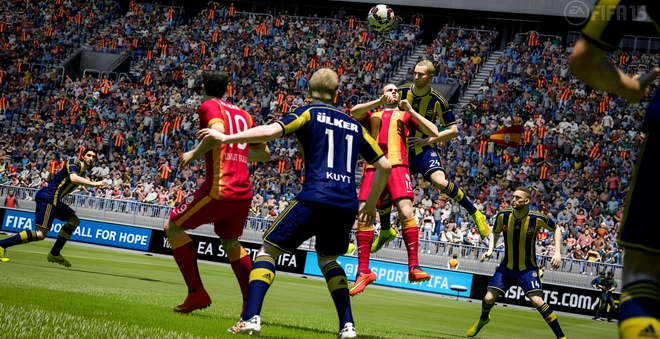FIFA 15 stoot Destiny van troon als best verkopende game