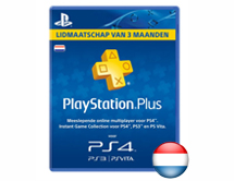 PlayStation Plus Abonnement 90 Dagen