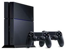 PlayStation 4 met 2 controllers