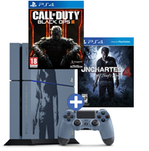 PS4-bundel Uncharted 4: A Thief's End + Call of Duty: Black Ops 3