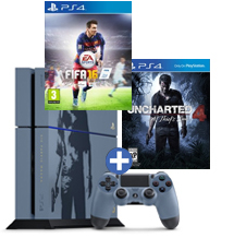 PS4-bundel Uncharted 4: A Thief's End + FIFA 16
