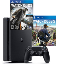 PS4-bundel Watch Dogs 2 + Watch Dogs