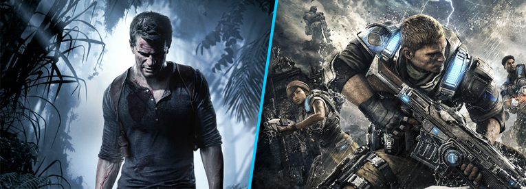 Uncharted 4 vs Gears of War 4