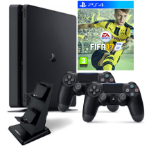 PS4-bundel FIFA 17 2 controllers
