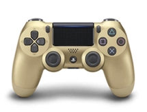 PlayStation 4 Controller Goud