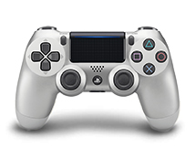 PlayStation 4 Controller Zilver