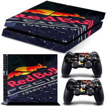 PS4 Skin Red Bull Max Verstappen