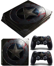 PS4 Slim Skin Captain America