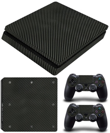 PS4 Slim Skin Carbon