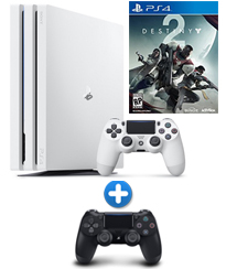 PS4-bundel Destiny 2 Pro wit