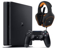 PS4-bundel Logitech G 231 Gaming Headset