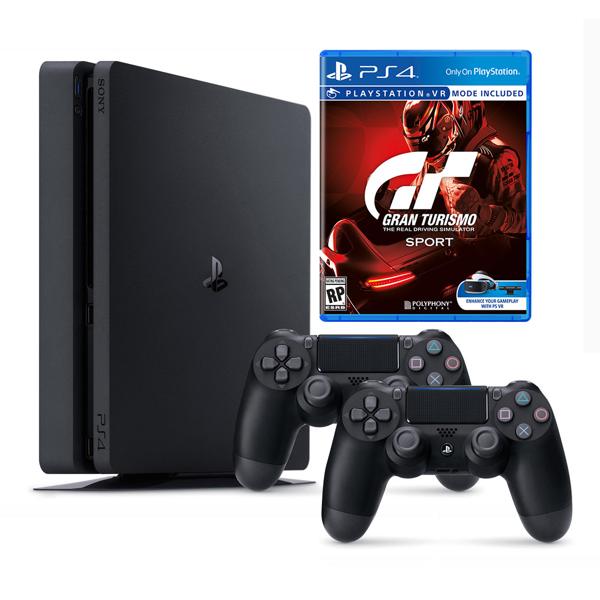 sony ps4 slim 1tb gran turismo sport extra controller playstation 4 club. Black Bedroom Furniture Sets. Home Design Ideas
