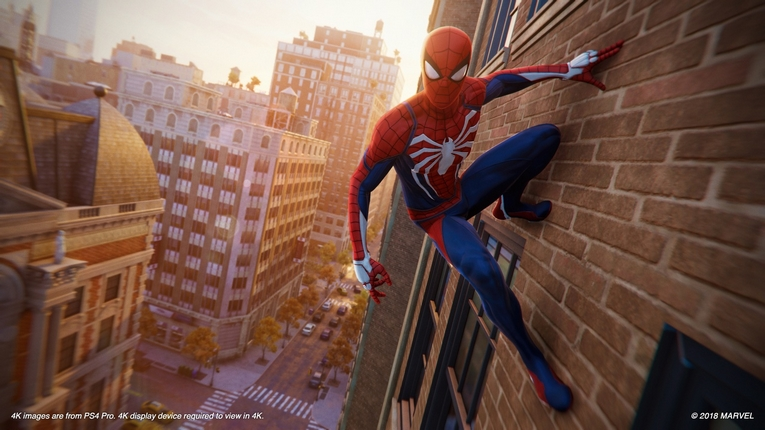 Marvel's Spider-Man voor de PlayStation 4 (2018)